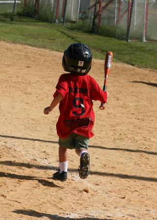 Austin's First Baseball Game