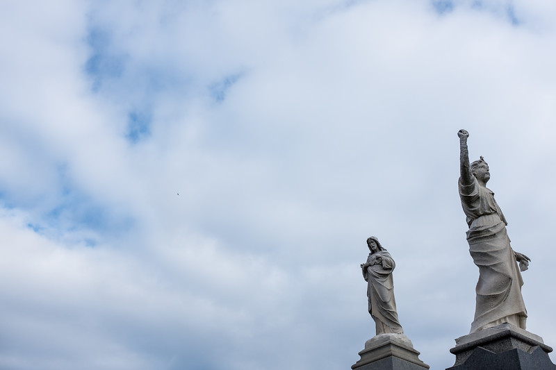 Statues in the Sky