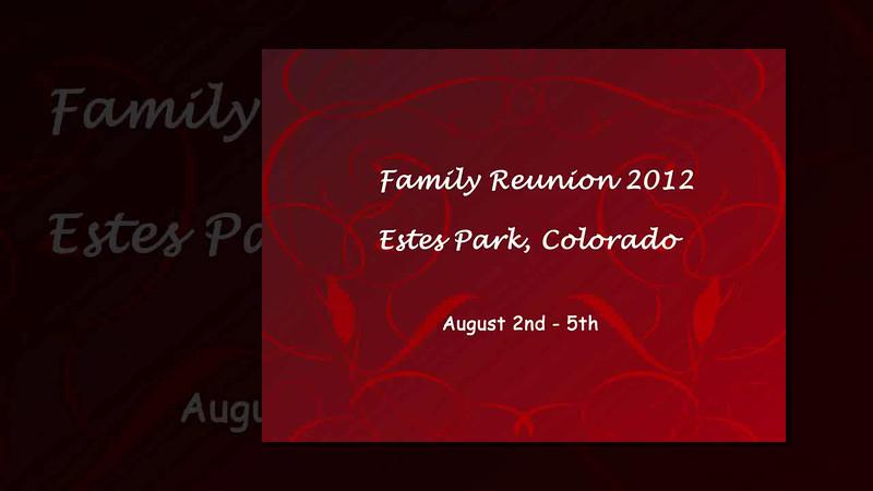 Family reunion 2012 ProShow Slideshow.avi