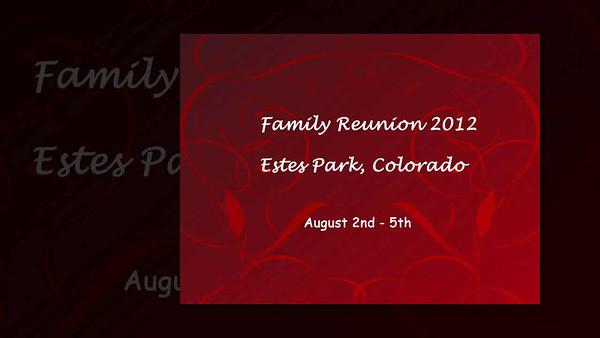 2012 FAMILY REUNION