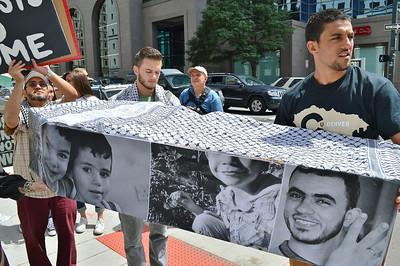 Gaza Attacks Protest-Denver,Co-8/16/14