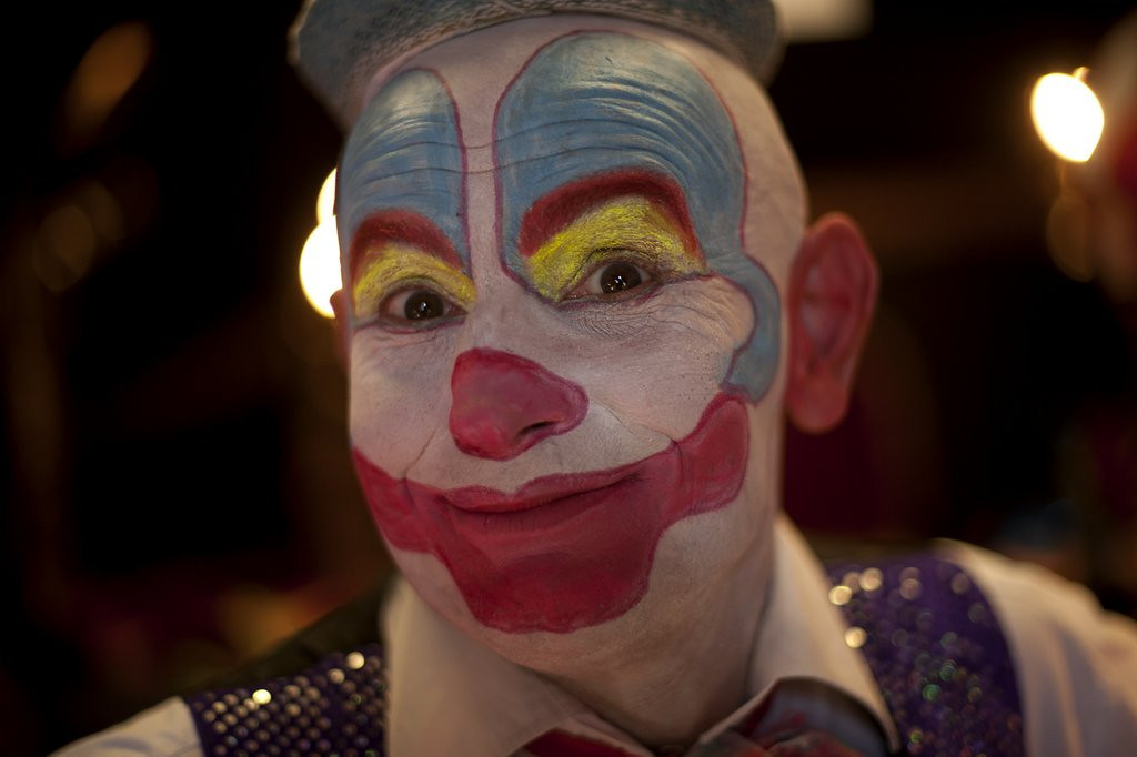 """. <p>6. CLOWNS <p>In short supply everywhere, except Washington. (unranked) <p><b><a href=\' http://www.nydailynews.com/news/national/exclusive-national-clown-shortage-approaching-article-1.1616801\' target=\""""_blank\""""> HUH?</a></b> <p>    (Jorge Guerrero/AFP/Getty Images)"""