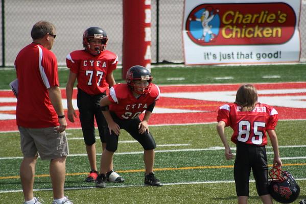 hunter 6th grade football