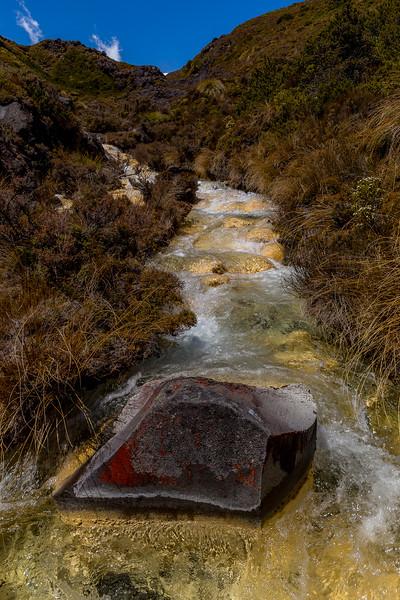 Silica Rapids im Tongariro National Park
