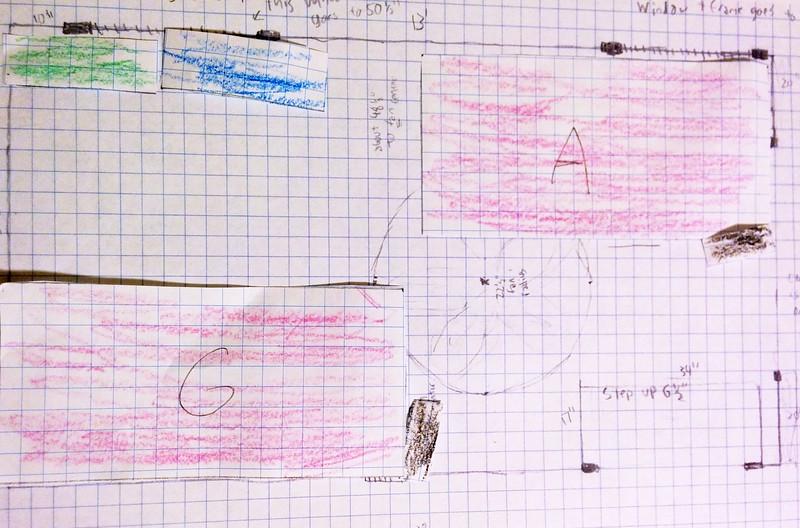 Guen's room plan.