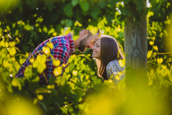 Katie & Ryan's Gorgeous Waterfall and Mountain Engagement Session in Clayton, GA