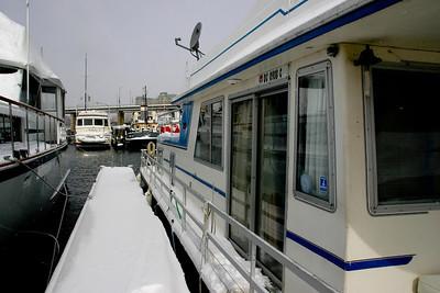 Snow Day on the Docks of CYC