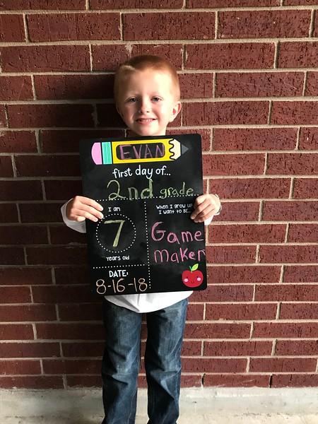 Evan | 2nd | Deer Creek Elementary School