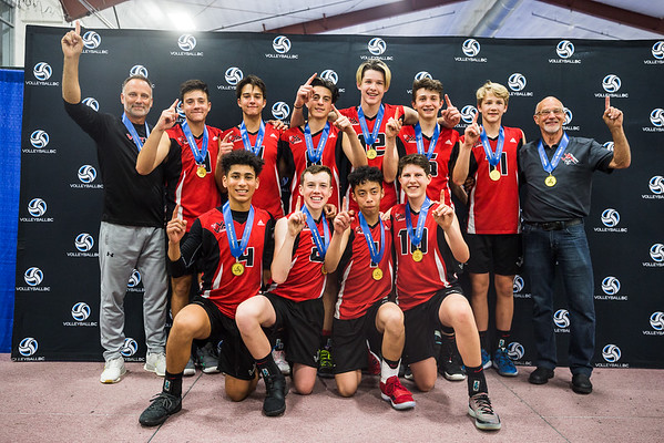 2019 Club Provincial Championships - 13U-15U Boys Medals and Awards