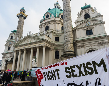2017-01-21 Womens March, Vienna