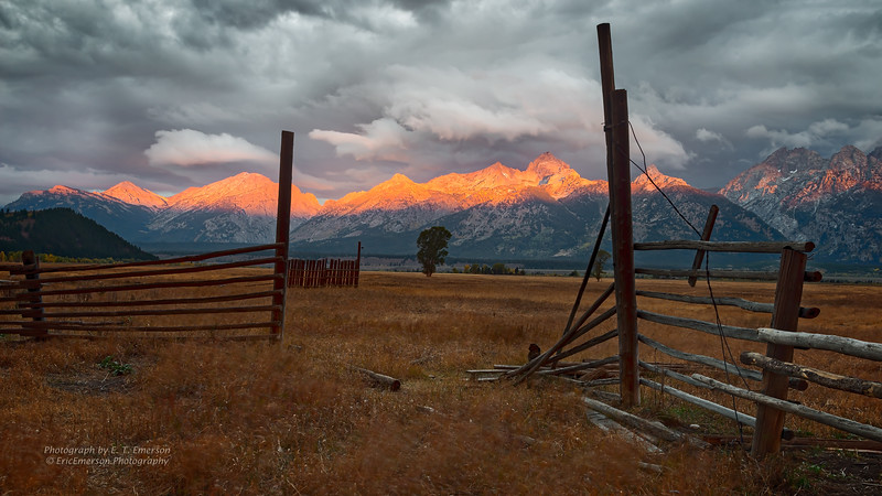 Grand Tetons and Yellowstone in Fall