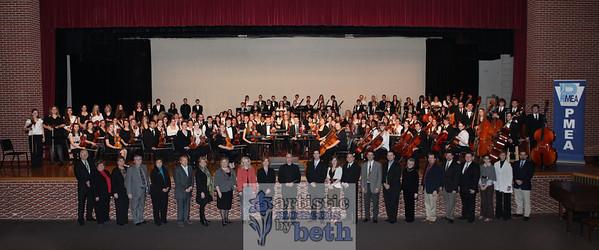 PMEA Orchestra 2012