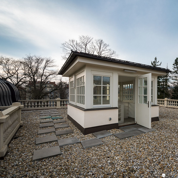 Klimt Villa (auch Villa Werner) in Hietzing - Gustav Klimts letztes Atelier