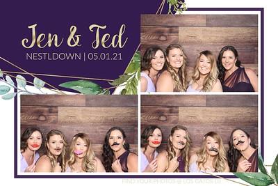 Jen & Ted Photo Strips