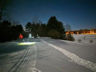 Full Moon Ski Tour
