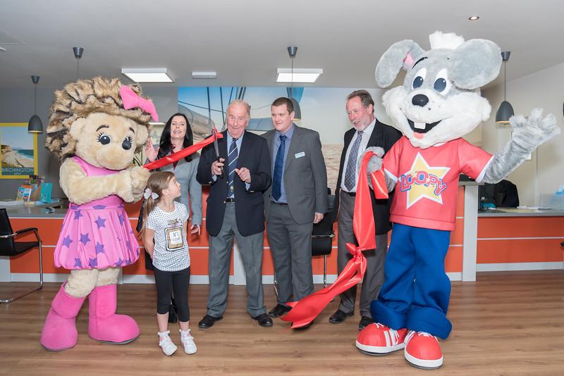 Park Holidays, Birchington Vale Opening Ceremony