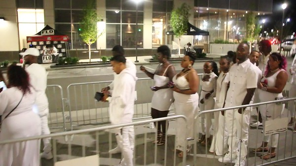 2018 WHITE PARTY DAVE AND BUSTERS FLOYD MAYWEATHER AMBER ROSE