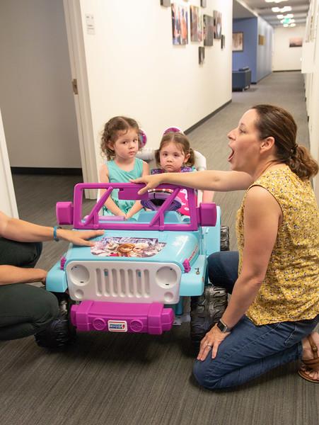 Go Baby Go Car Build at Marymount University June 2018
