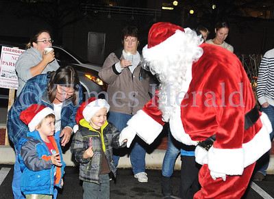 West Conshy Tree Lighting