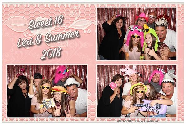 2018  09-28  Lexi & Summer