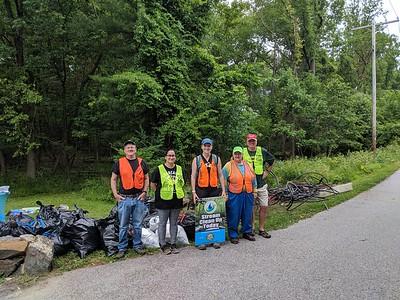 6.9.19 Miller Run Cleanup @ Wurtzers Garage
