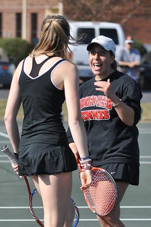 Women's Tennis vs. ECU