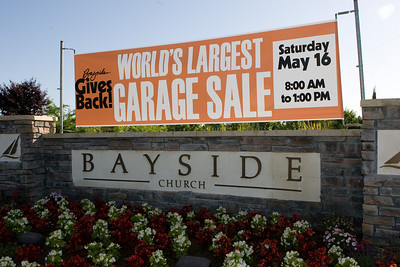 Worlds Largest Garage Sale - May 16, 2009