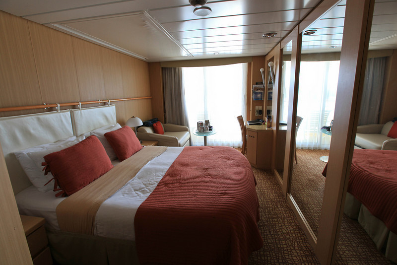 inside our cruise ship cabin