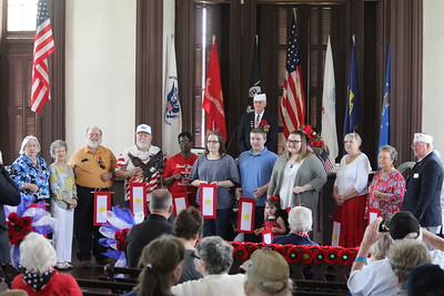 VFW Post 8904 hosts Memorial Day Ceremony at Historic 1885 Shelby County Courthouse