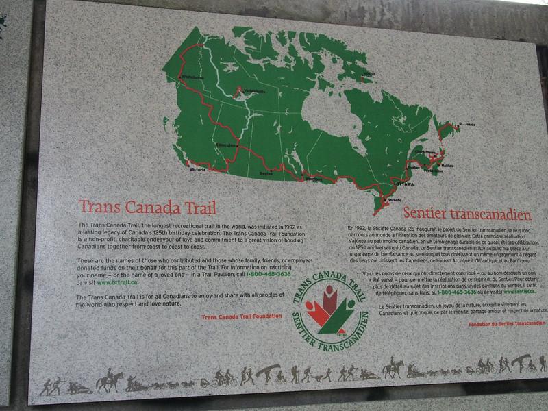 Oct. 19/13 - Trans Canada Trail in Sutcliffe Park, Granville Island