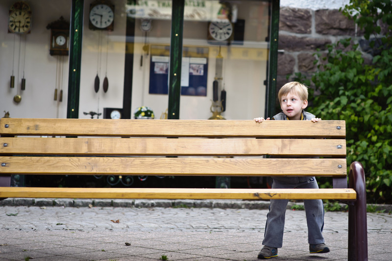 Funny bench