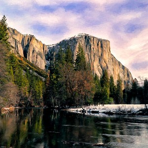 El Capitan Merced River