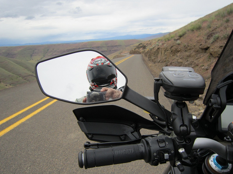 Spring trip 2010 by Ducati.MS member MartyS - Bickleton Highway Read the full trip story here