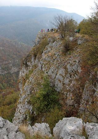 Srbija - Jelicke stene, kanjon Tribuce i Tresnjice, 20.10.2018.