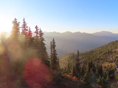Marmot Pass at Sunset - Oct 3