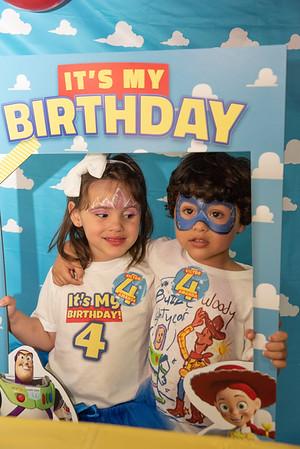Amanda and Victor's Birthday