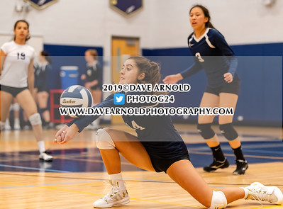 9/9/2019 - Girls Varsity Volleyball - Boston Latin vs Needham