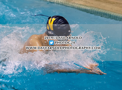 1/22/2019 - Boys Varsity Swimming - Needham
