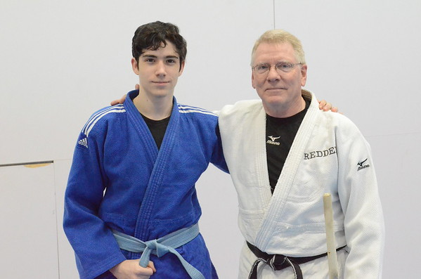 Judo National Champion Visits FUMA