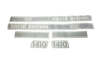 DAVID BROWN 1410 CASE SERIES BONNET DECAL SET