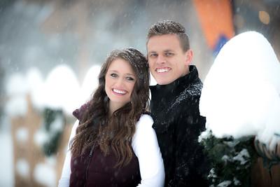 Kayla and Christian Snowbasin