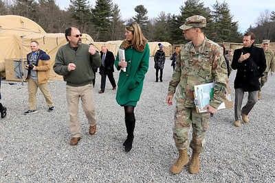Congresswoman Trahan visited the BCIL on Fort Devens, January 18, 2019