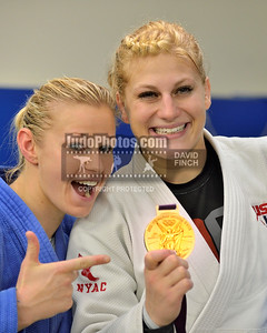 2014 Kayla Harrison coaching at Camberley JC - 20 Sept.