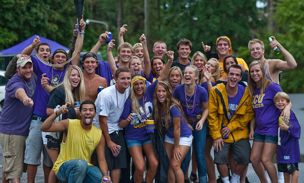 2011 ECU Parents Weekend and Party on Summit