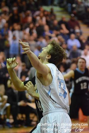 03 07 2014 Clarksburg HS vs Walt Whitman HS Boys Varsity Basketball Playoffs, Photos by Jeffrey Vogt Photography
