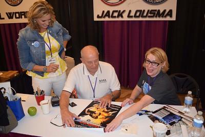 Emily and Jack Lousma