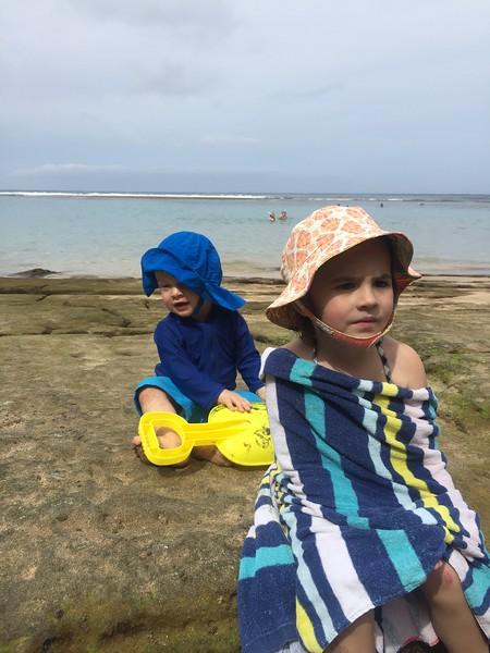 Malia & Leif at Ke'e Beach