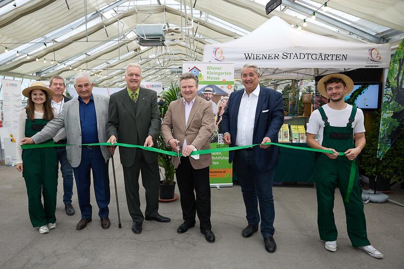 Eröffnung Wiener Kleingarten Messe 2021