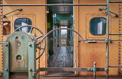 The Yellow Train by Dmitry Dreyer
