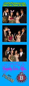 4/27/19 Beckman H.S. Prom - Photo Booth PhotoStrips